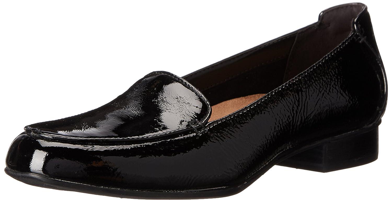 Black Patent Leather Clarks Women's Keesha Luca Pumps