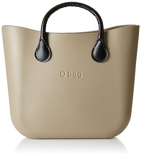 O bag - Obdy17_obcv02, Bolsos de mano Mujer, Beige (Roccia), 38x31x14