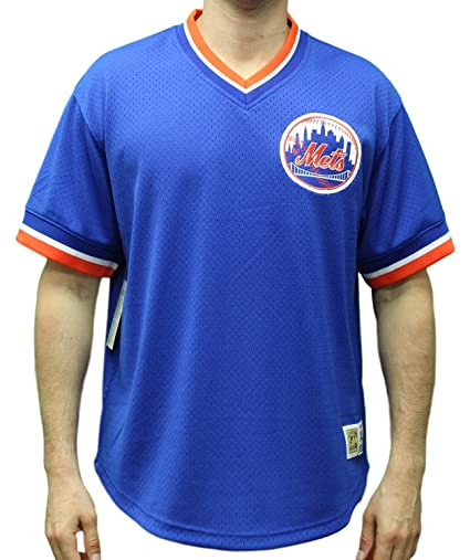 7301208f47f Amazon.com   Mitchell   Ness New York Mets MLB Men s Game Winner ...