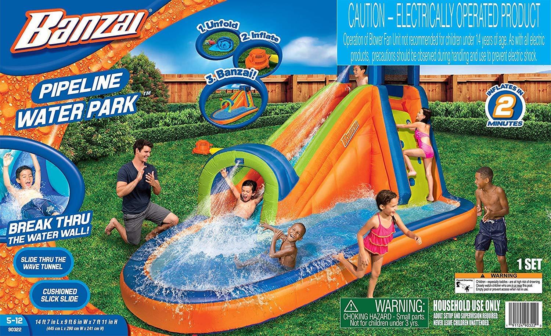 BANZAI Pipeline Water Park Toy by BANZAI (Image #3)