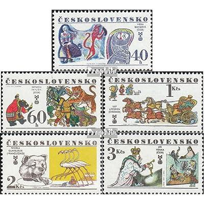 Tchécoslovaquie 2391-2395 (complète.Edition.) 1977 enfants (Timbres pour les collectionneurs)