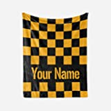 14b3f19da7 Personalized Custom Pittsburgh Steelers Colors Themed Fleece Throw Blanket  - Steeler Super Bowl Champs - Gifts