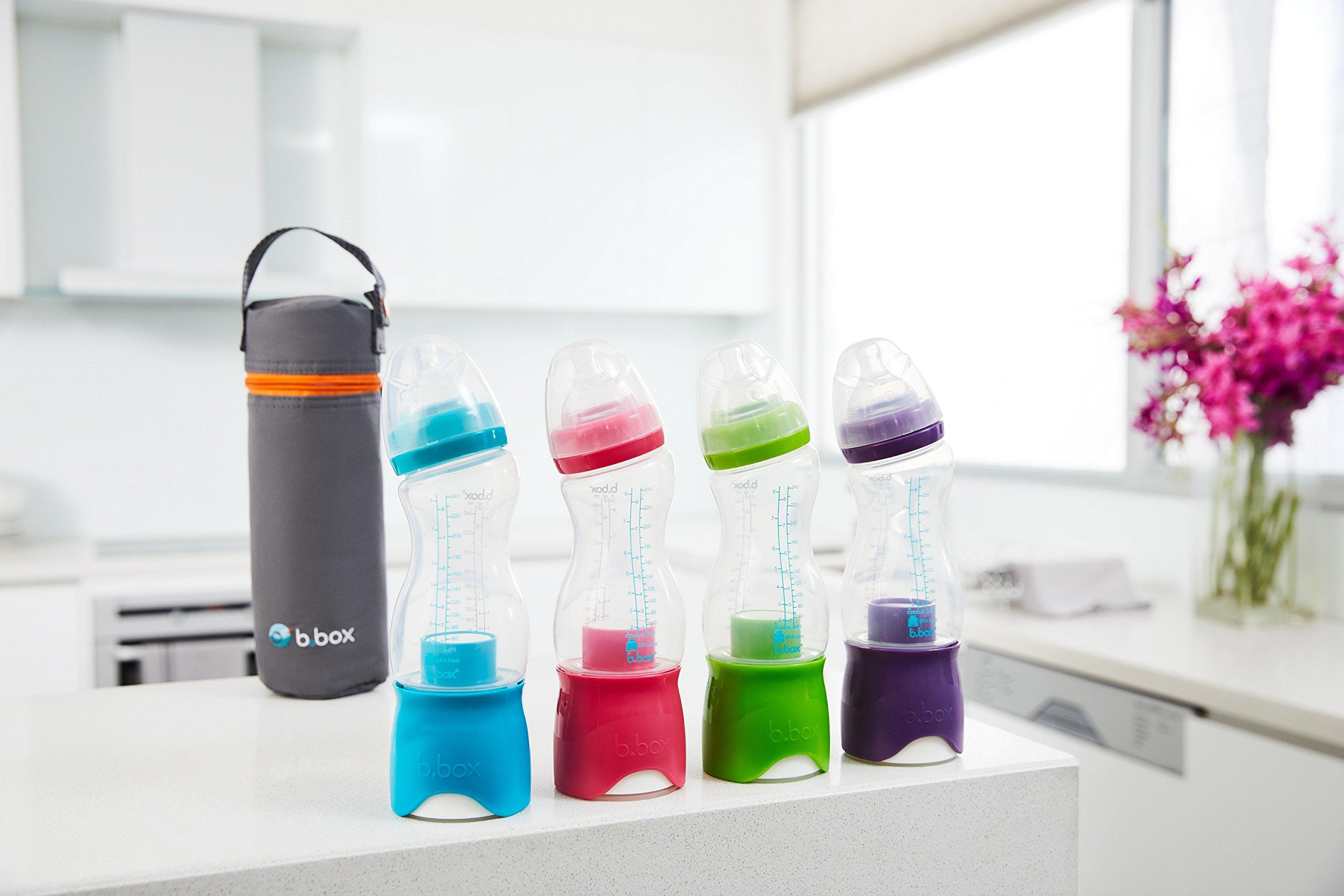 b.Box Microfibre Bottle Bag | for b.Box Bottle + Dispenser | Color: Grey | BPA-Free| Phthalates & PVC Free by Bbox (Image #3)