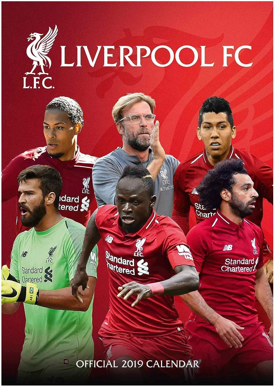 Liverpool FC Calendario Oficial de fútbol (Premier League) 2019