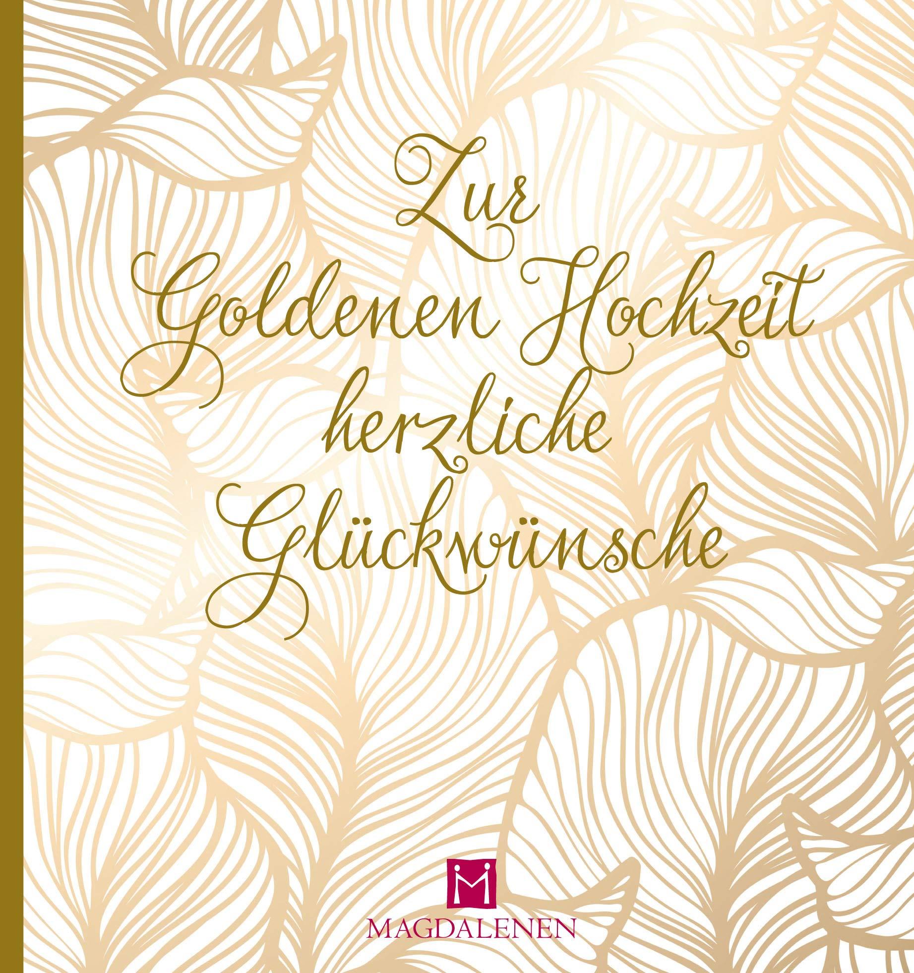 Gratulieren zum goldene hochzeit