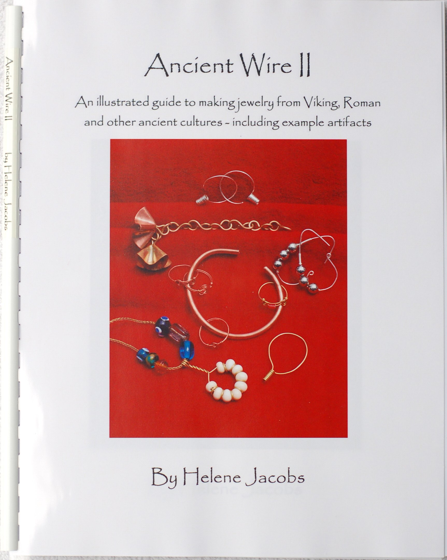 Ancient Wire II illustrated jewelry product image