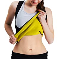 Roseate Vrouwen Body Shaper Hot Zweet Workout Tank Top Afslanken Vest Sauna Shirt Neopreen Compressie Shapewear Geen…
