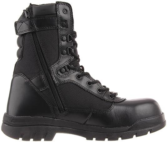 Bates Men's Safety Enforcer 8 Inch L N ST Uniform Work Oxford: Amazon.ca:  Shoes & Handbags