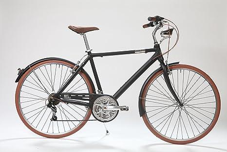 LA Urban Dragon Black: Bicicleta Paseo Hombre en Aluminio 21 ...