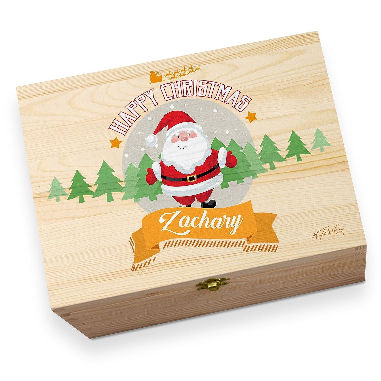 TWISTED ENVY Personalised Santa Christmas Children's Printed Christmas Eve Box