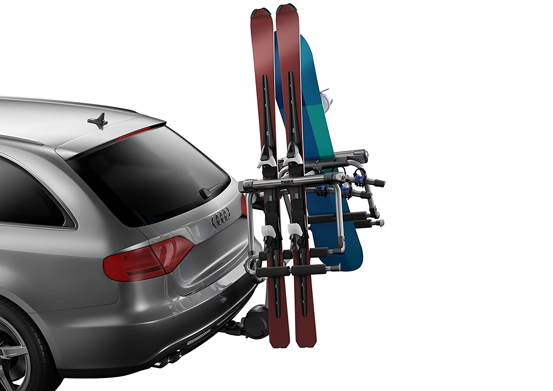thule car ski watch rack strap youtube for