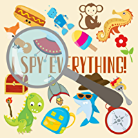I Spy Everything Book For Kids: A Fun Guessing Game A-Z , for Little Kids Toddler And Preschool  (54 Pages, 8.25 x 8.25 inches) (English Edition)