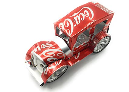 Ka Handmade Classic Cars Built With Coca Cola Aluminum Cans And Recycled Materials