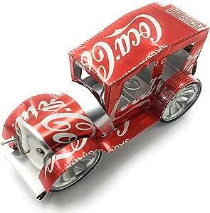 Amazon Com K A Coches Clásicos Hechos A Mano Construido Con Latas De Aluminio Coca Cola Y Materiales Reciclados Ideal Para Coleccionar El Día Del Padre Y Padres Coleccionistas Toys Games