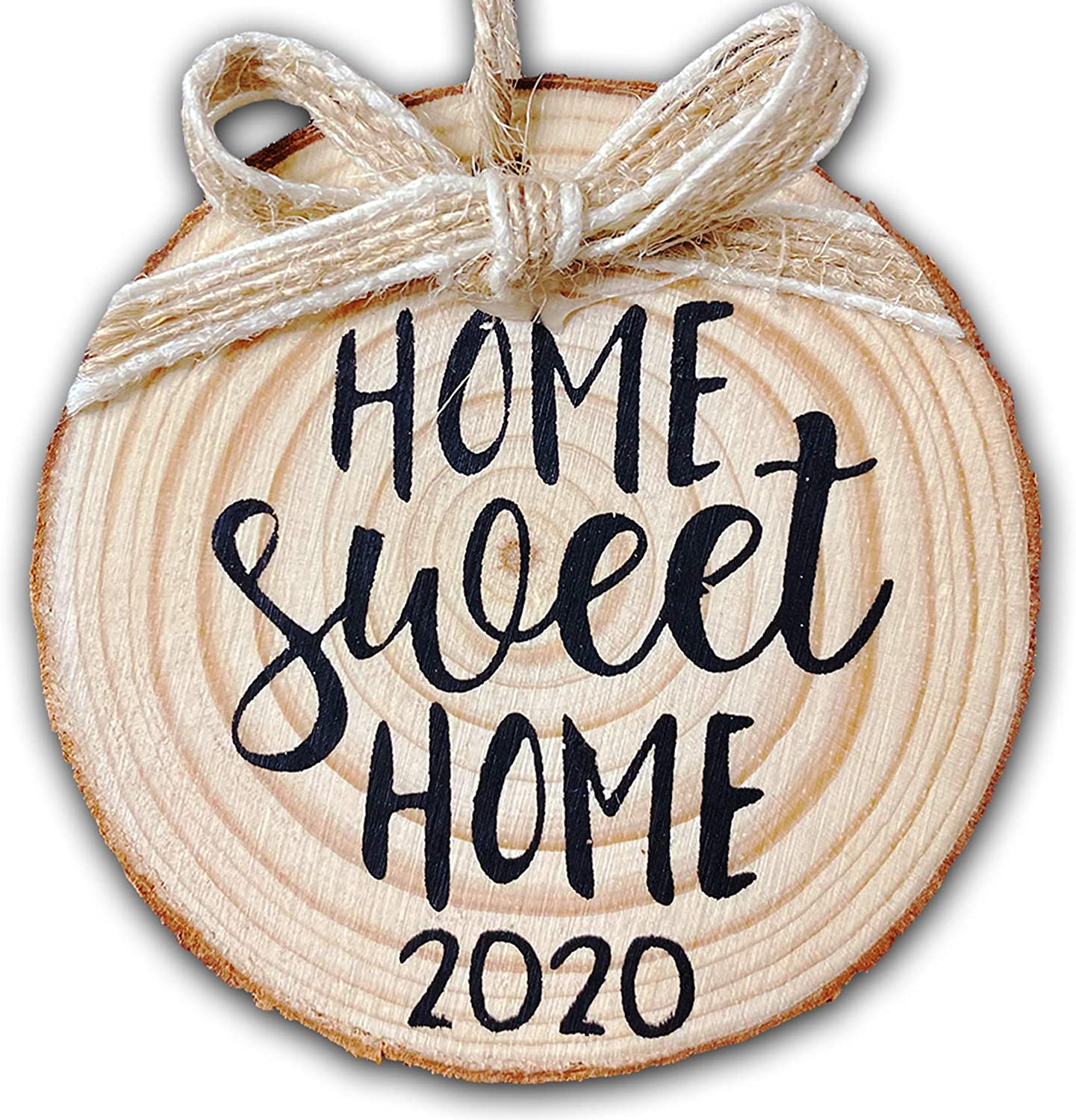 2020-Christmas-Ornament-Quarantine Christmas Decorations Housewarming Home Sweet for Indoor Outdoor Home Gift for Women Man Kids