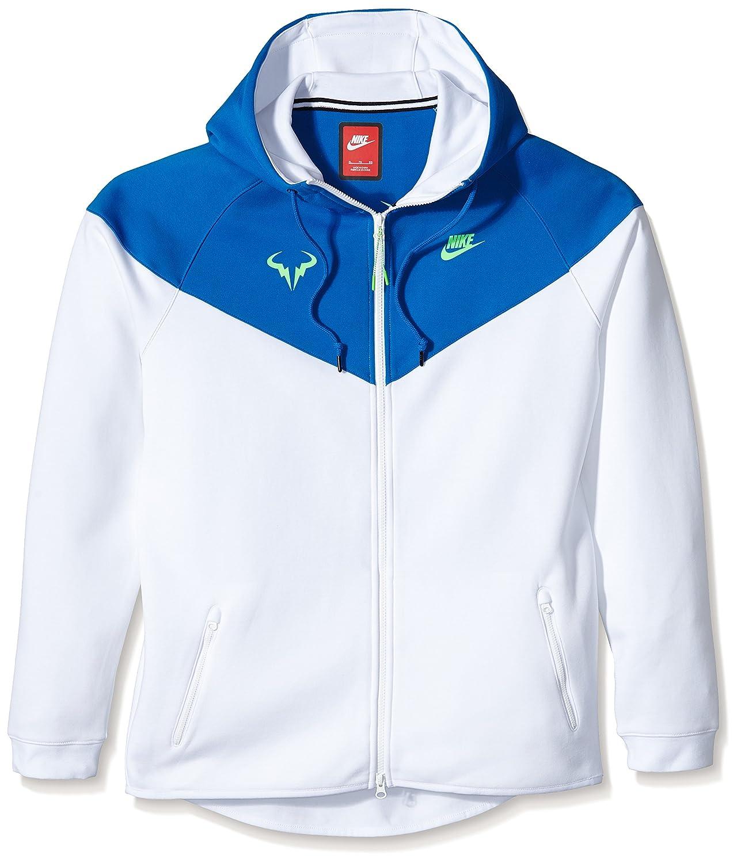 Nike Premier Tech Toisón de Rafa Nadal Tennis Hombres Chaqueta, Colour Blanco Blanco White/Soar/Green Strike Talla:Extra-Large: Amazon.es: Deportes y aire ...