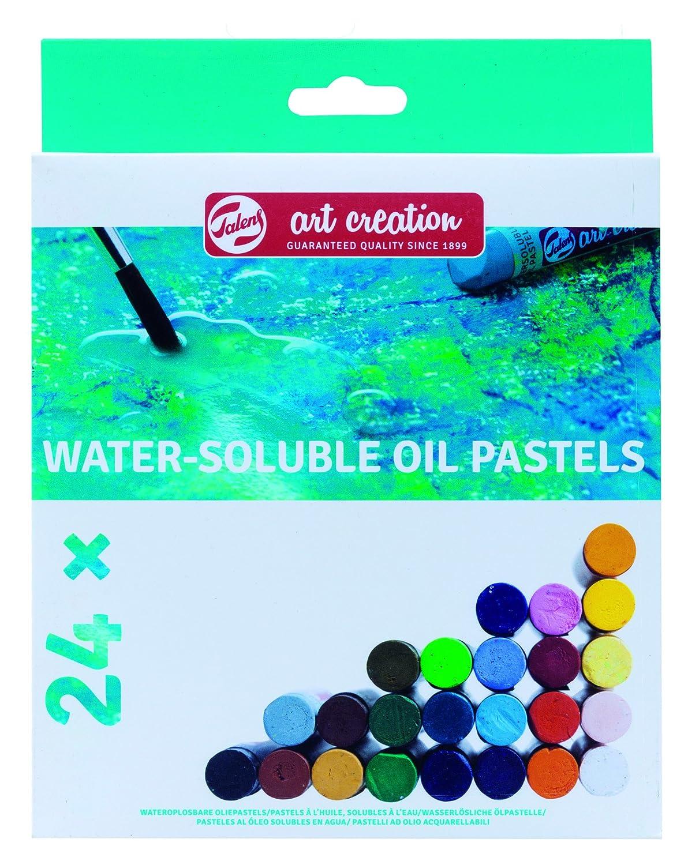 Lona 1.9/X 16.4/x 21/cm Talens Tipo Creation /ölpastelle Set 24/Soluble en Agua