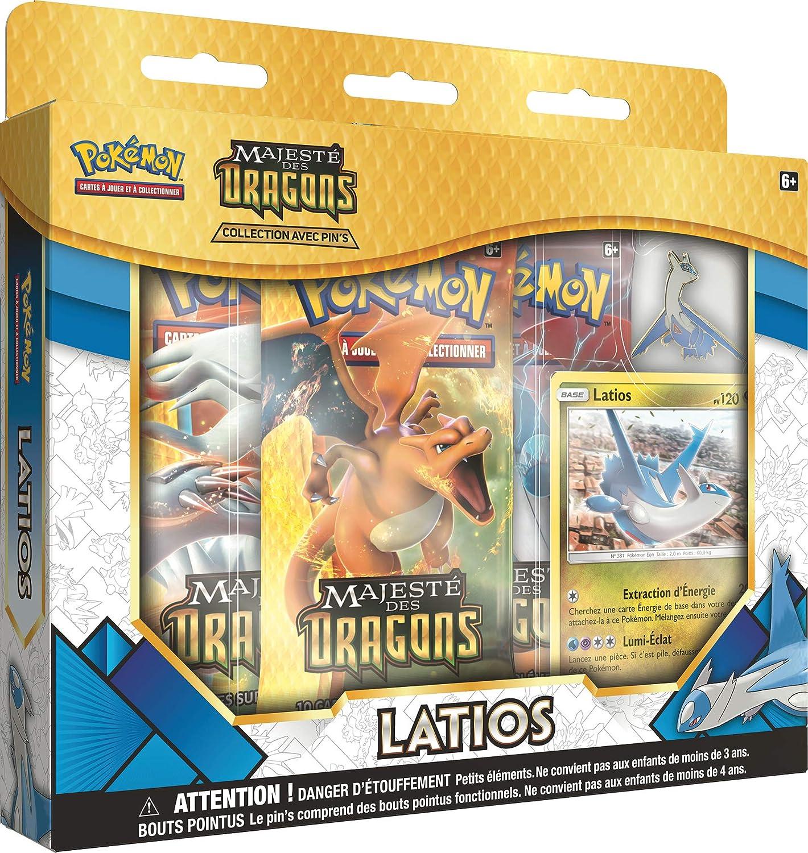 Latias et Latios Neuf Lot des 2 Coffrets Pin Collection Majesté des Dragons