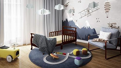 Athena Anna Sleigh Toddler Bed