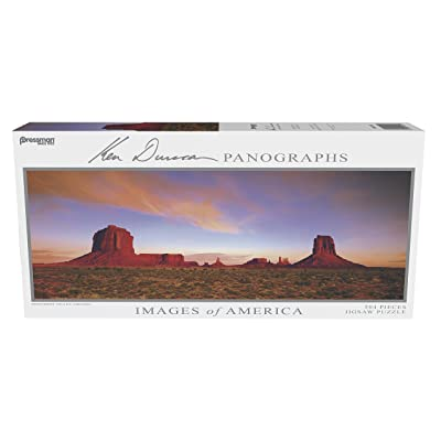 Pressman Images of America Puzzle - Monument Valley: Toys & Games