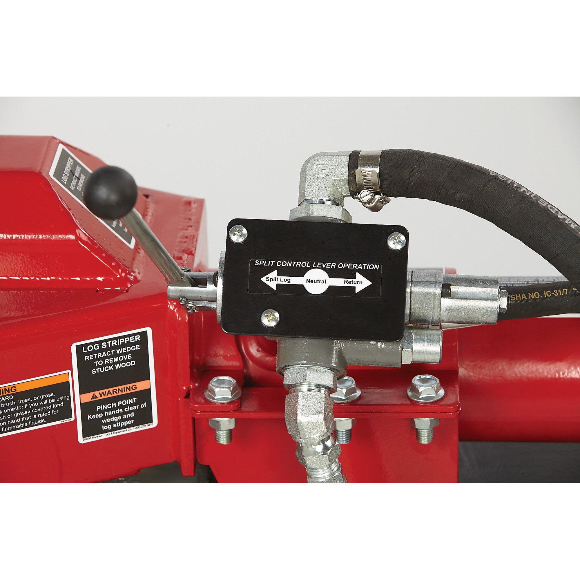 NorthStar Horizontal/Vertical Log Splitter - 24-Ton, 160cc Honda GX160 Engine