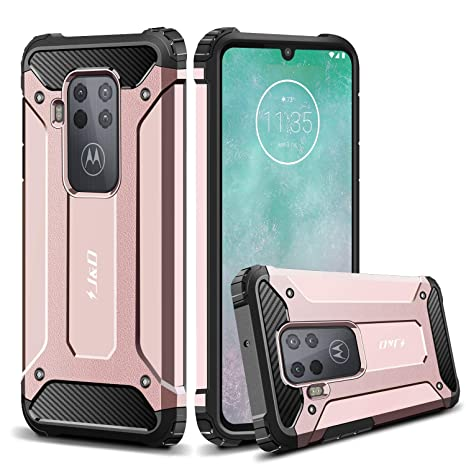 Amazon.com: J&D Case Compatible for Motorola One Zoom Case ...