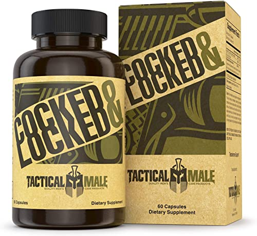 Tactical Male Cocked Locked Testosterone Booster