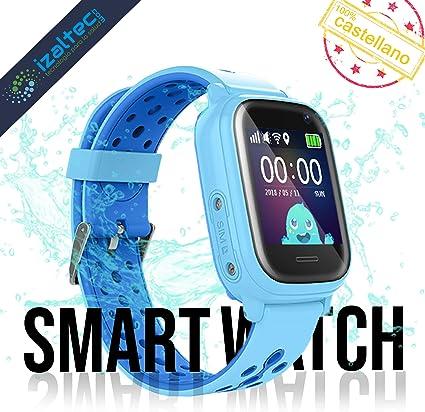 Smartwatch niños con localizador GPS+WiFi+AGPS+LBS Llamadas y ...