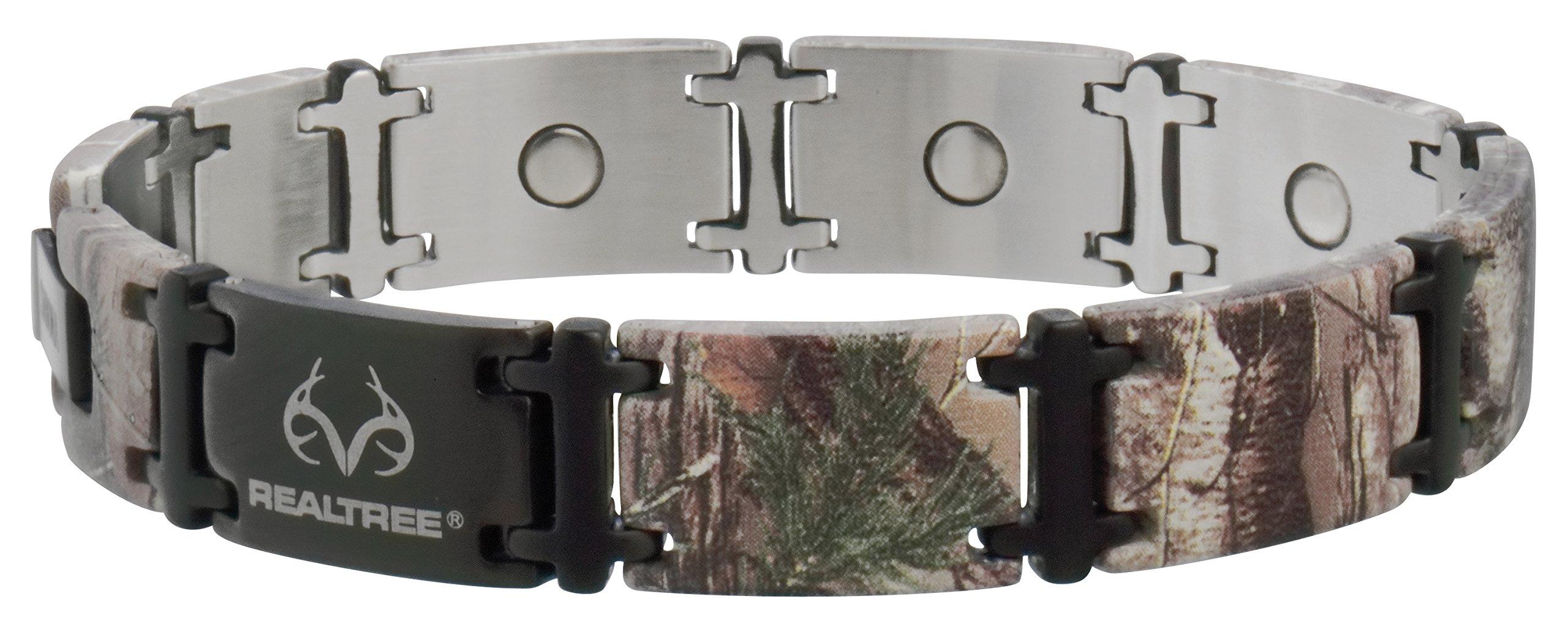 Sabona Real Tree Camo Black Magnum Magnetic Bracelet, Medium by Sabona (Image #1)