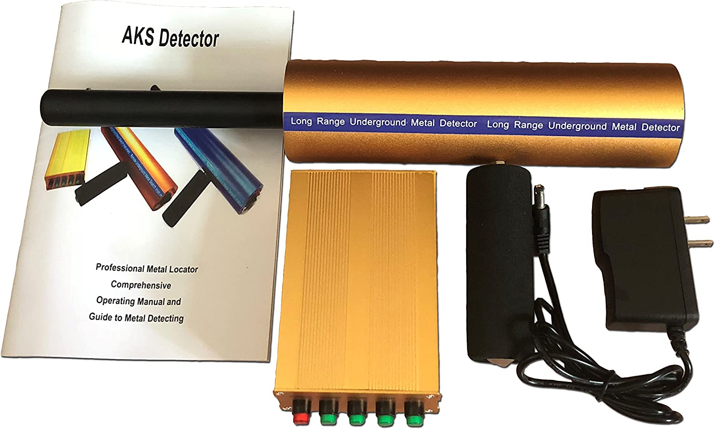 AKS 3D Detector de Metales de Largo Alcance Aks de Oro y Diamante ...