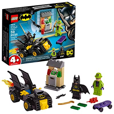 LEGO DC Batman: Batman vs The Riddler Robbery 76137 Building Kit (59 Pieces): Toys & Games