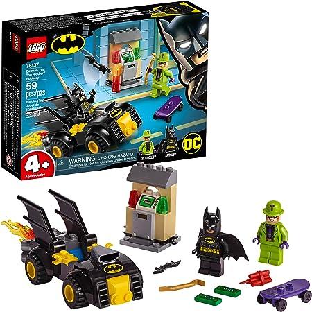 LEGO DC Batman: Batman vs The Riddler Robbery 76137 Building Kit (59 Pieces)