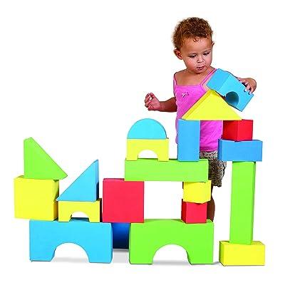 Edushape Big Edu-Color Blocks, 32 Piece: Baby