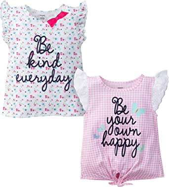 Gerber Graduates Baby-Girls 2 Pack Shirts Sleeveless Tank Top
