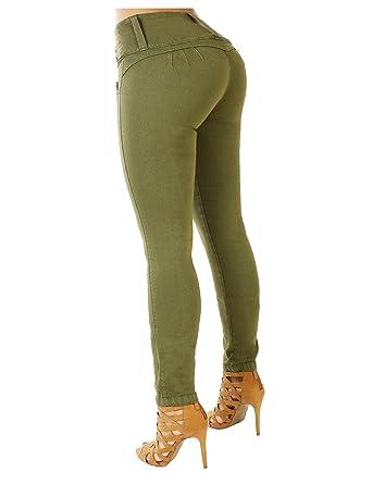 846d234f2b Amazon.com  Curvify 764 Women s Butt-Lifting Skinny Jeans