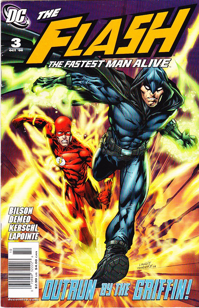 Download The Flash--The Fastest Man Alive (No. 3, October 2006) ePub fb2 book