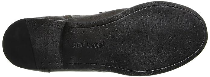 6c4c6b9b86b Amazon.com | Steve Madden Men's Triggah Combat Boot | Motorcycle ...