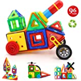 Children Hub 96pcs Magnetic Building Blocks Set: Educational Toys For Kids