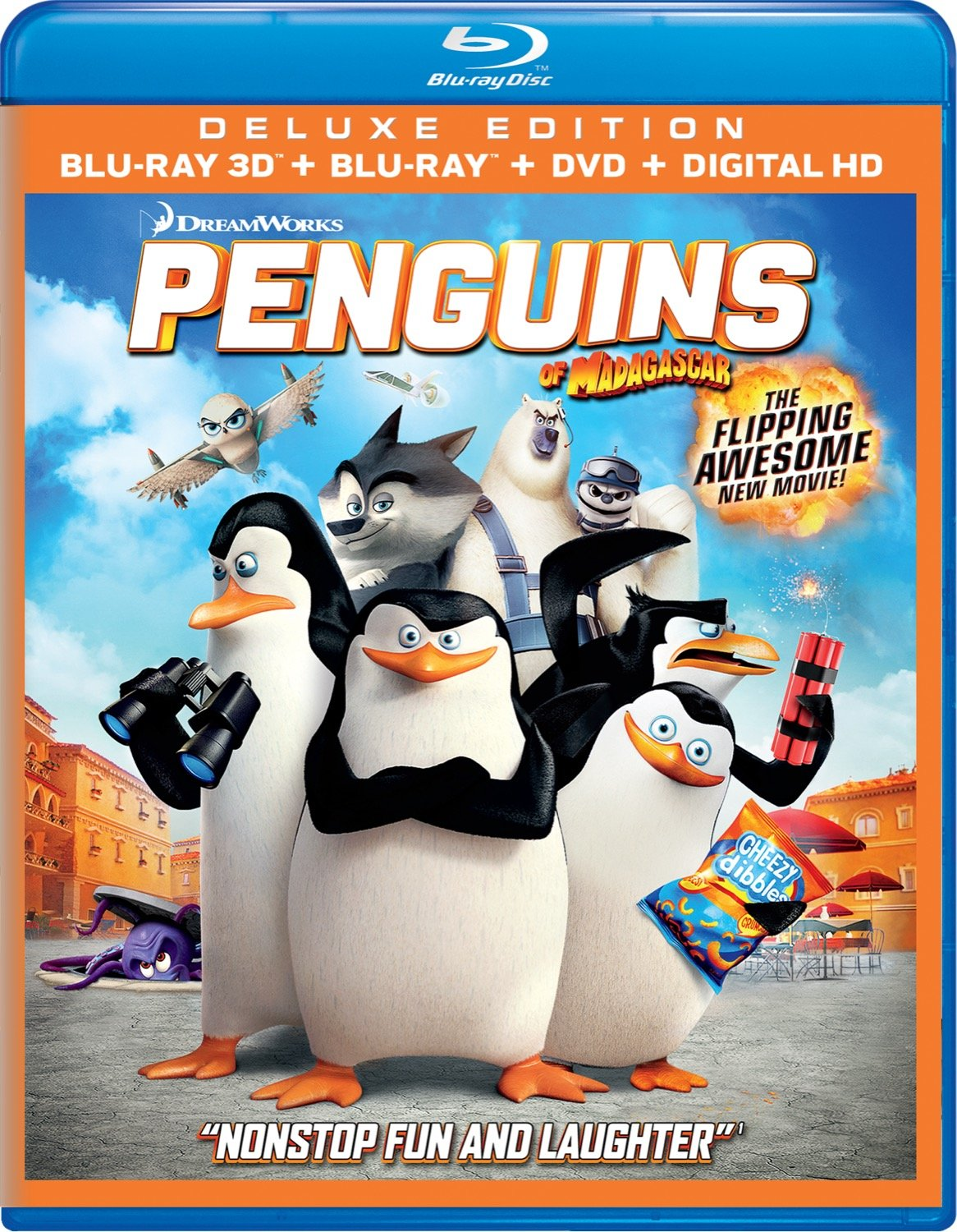 Penguins of Madagascar 3D [Blu-ray]
