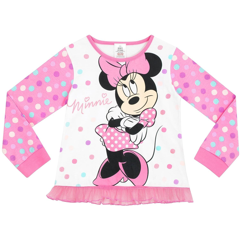 Disney Girls Minnie Mouse Pyjamas  Amazon.co.uk  Clothing a88bc0359