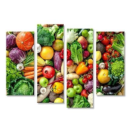 72b9673e6458 islandburner Cuadro Cuadros Surtido de Frutas y Verduras Frescas ...