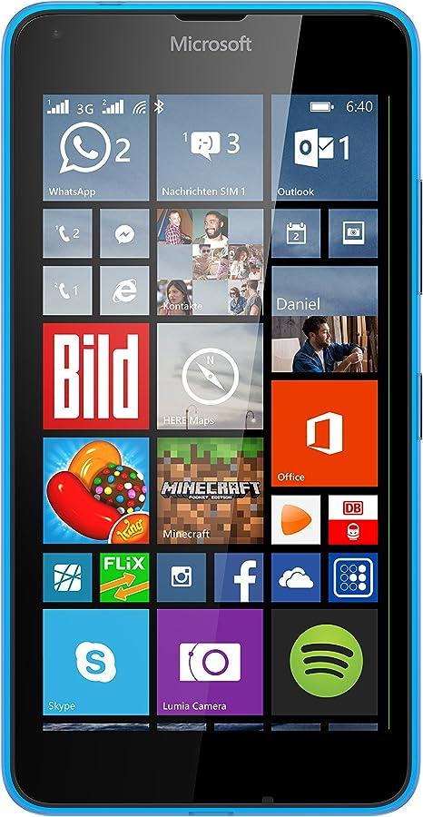 Microsoft Lumia 640 XL Dual-SIM Smartphone (5,7 pantalla (14,5 cm) Touch-Display, 8 GB, Windows 8.1) azul (importado): Amazon.es: Electrónica
