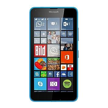 73f1afc072d Microsoft Lumia 640 XL Dual-SIM Smartphone (5,7 pantalla (14,5 cm)  Touch-Display, 8 GB, Windows 8.1) azul (importado): Amazon.es: Electrónica