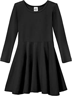 product image for City Threads Girls Twirly Skater Party Dress - All Cotton Made in USA