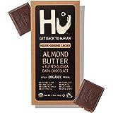Hu Dark Chocolate Bars   Natural Organic Vegan Chocolate, Gluten Free, Paleo, Non GMO, Fair Trade Dark Chocolate (Almond Butt