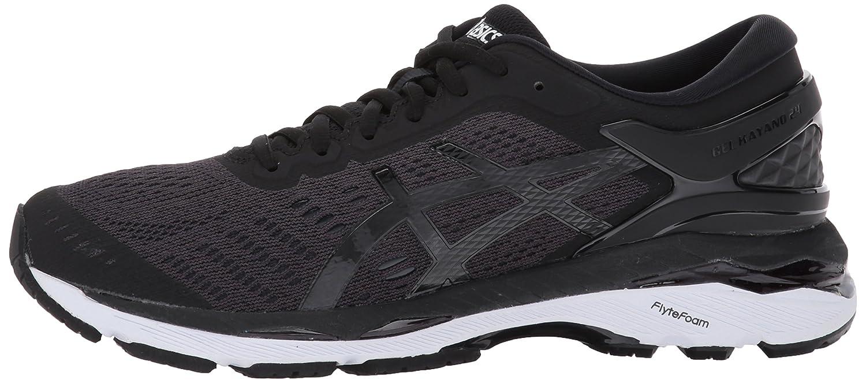 ASICS Women's Gel-Kayano 24 Running Shoe B01MTKJTEB 7.5 B(M) US|Black/Phantom/White