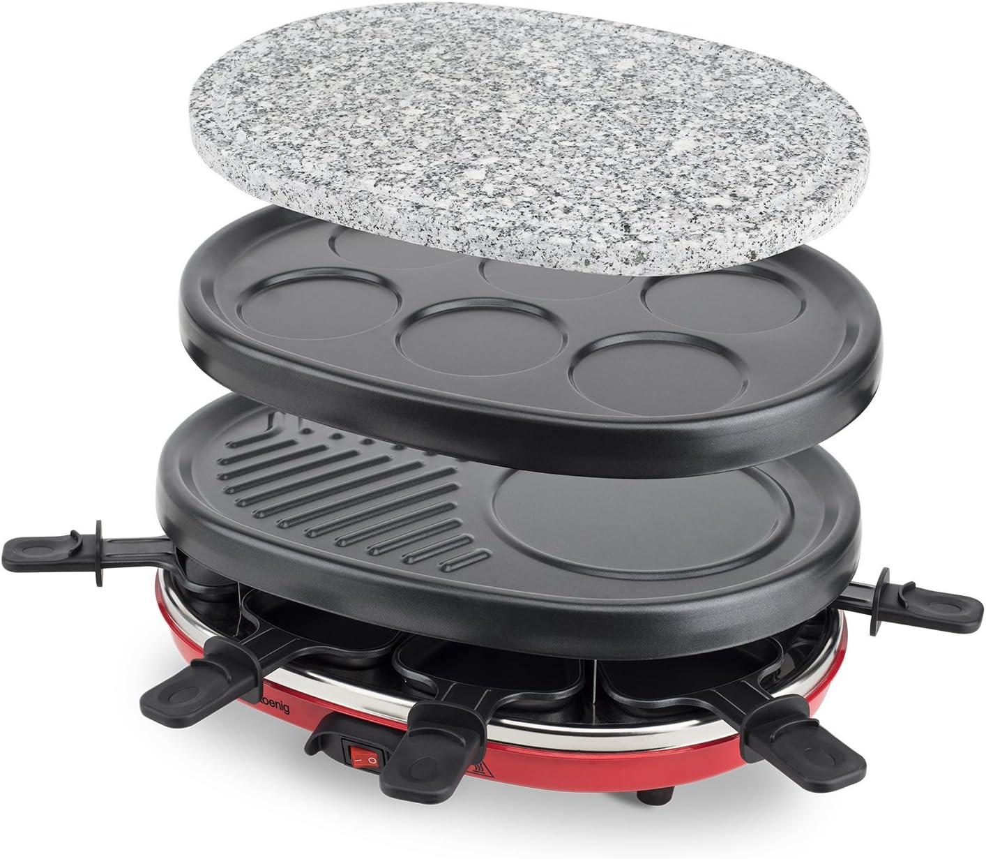 Raclette reacondicionada