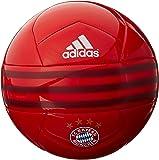 adidas Performance FC Bayern Soccer Ball, FC Bayern True Red/Craft Red/White, 5