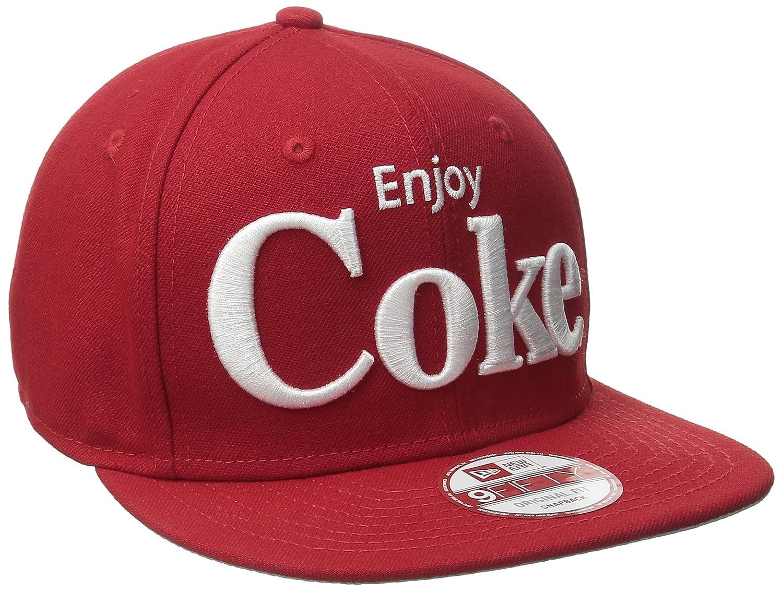 Amazon.com  New Era Cap Men s Block Back Coca-Cola 9Fifty Snapback ... 8fc7e2be64c