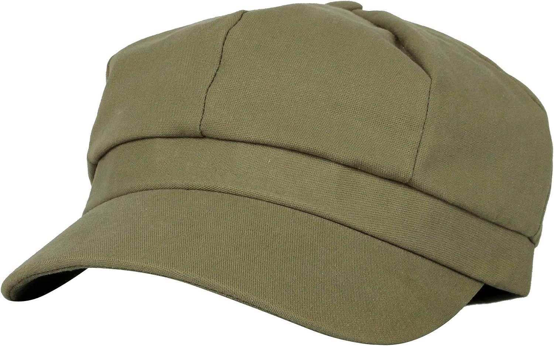 WITHMOONS Cotton Newsboy Hat Apple Gatsby Summer Plain Ivy Cap NCG1279